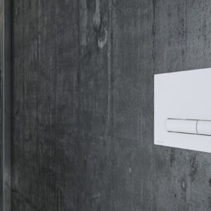 Przycisk Aurro do stelaża podtynkowego- biały