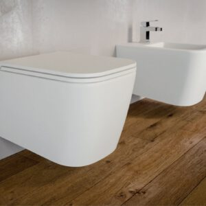 Bezrantowa miska wisząca WC Quadra No-Rim