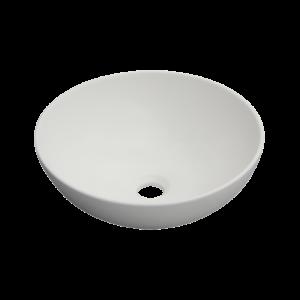 Dokos- umywalka nablatowa biały mat