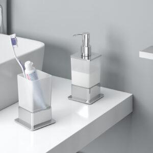 Dozownik do mydła w płynie stojący Riko