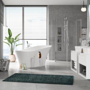 Szafka pod umywalkę nablatową biały/beton