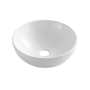 Dokos- umywalka nablatowa biały połysk