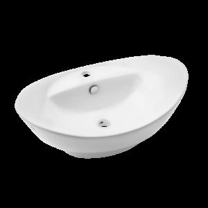 Feme- umywalka nablatowa biała